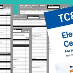 Kewtech TC8 New Elect. Installation Certificate for supplies over 100A